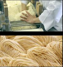 自家製細麺画像